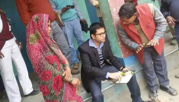 DM eats mid-day meal at Bihar school and helps widow get her job back