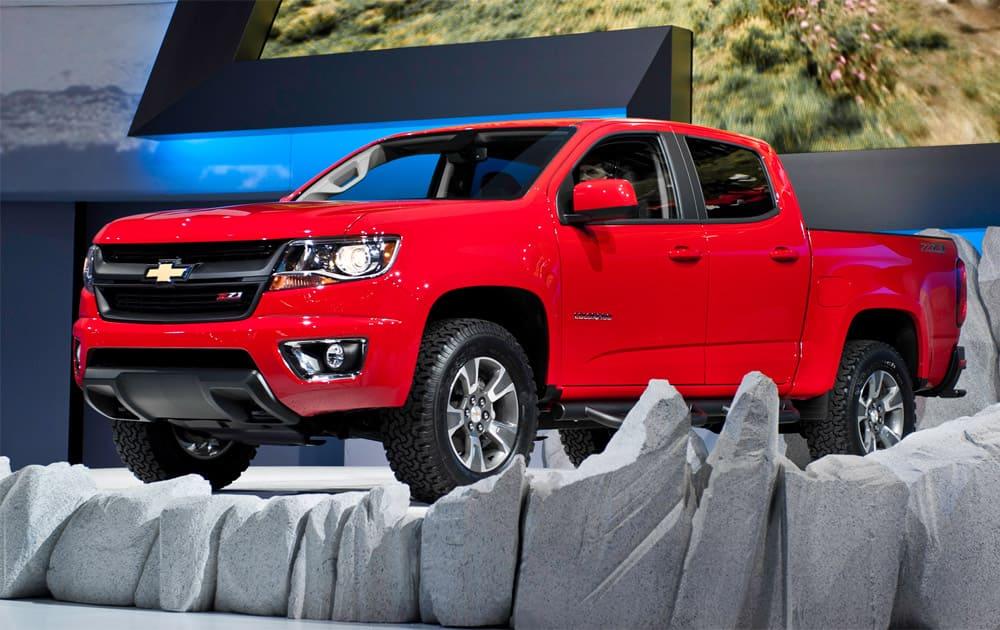 8) Chevrolet Colorado