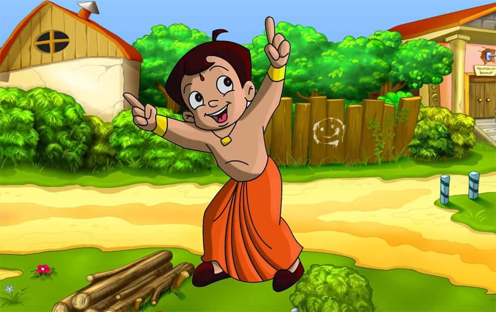 4. Chhota Bheem Jungle Run