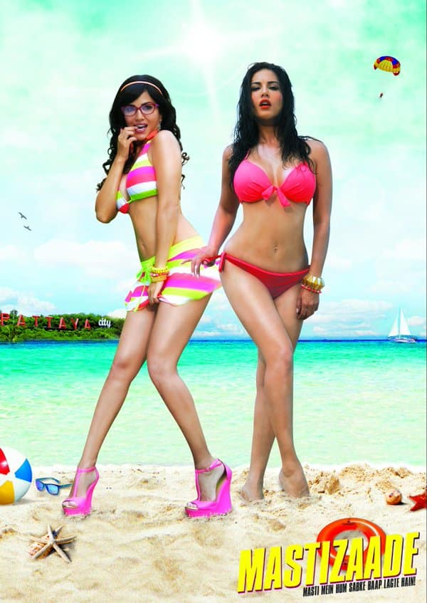 Sunny Leone does a double role in 'Mastizaade'.