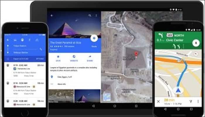6. Google Maps