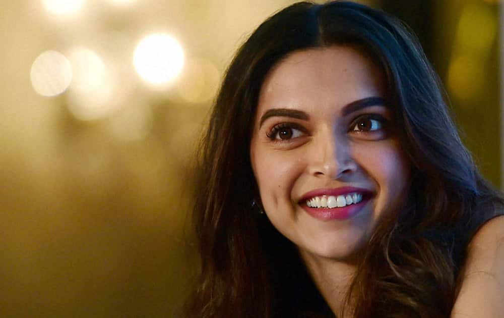Deepika Padukone. Major endorsement Tanishq.
