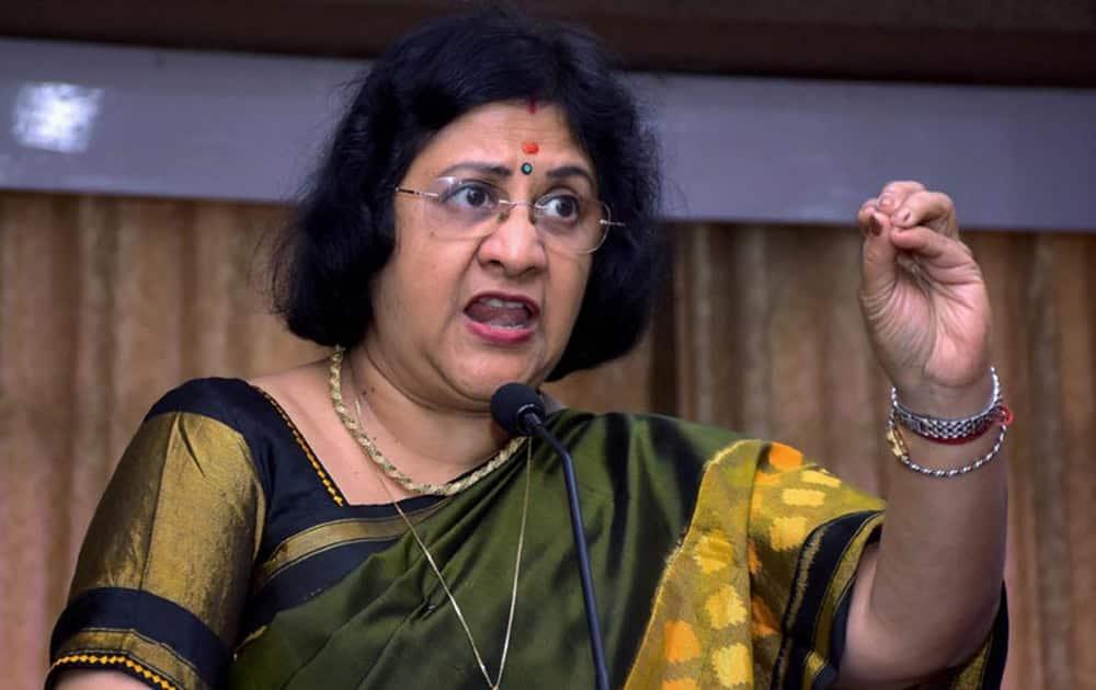 1. Arundhati Bhattacharya: State Bank Of India