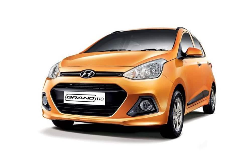 Hyundai Motor India's Grand i10 at No.4 with 12,899 units.