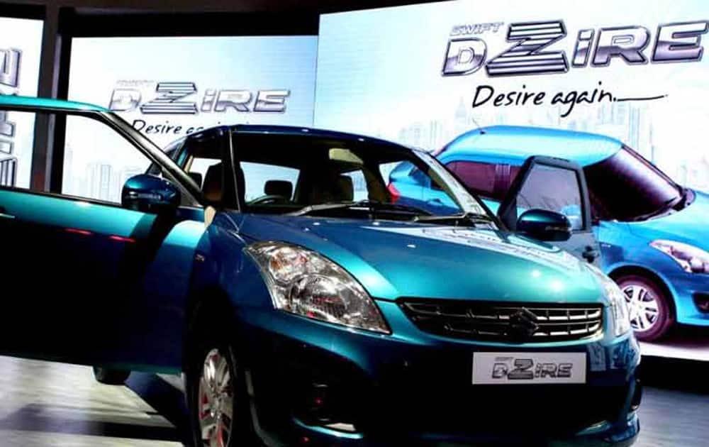 Maruti's compact sedan Dzire at No. 2 with 15,463 units.