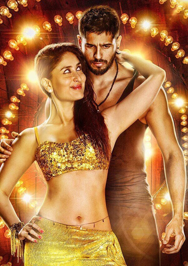 Kareena Kapoor Khan :- Here's an unseen poster of Kareena and Sidharth smoking it up together for