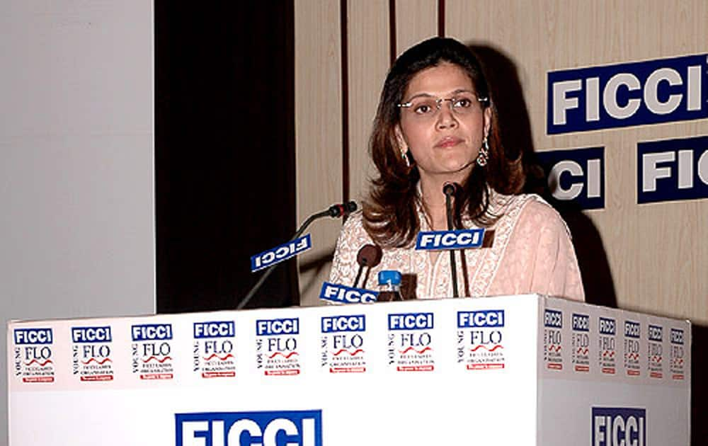 Neerja Birla (Wife of Kumar Mangalam Birla, Chairman of Aditya Birla Group).