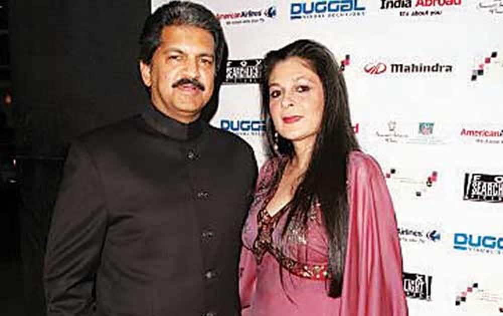 Anuradha Mahindra (Wife of Anand Mahindra, MD of Mahindra Group).