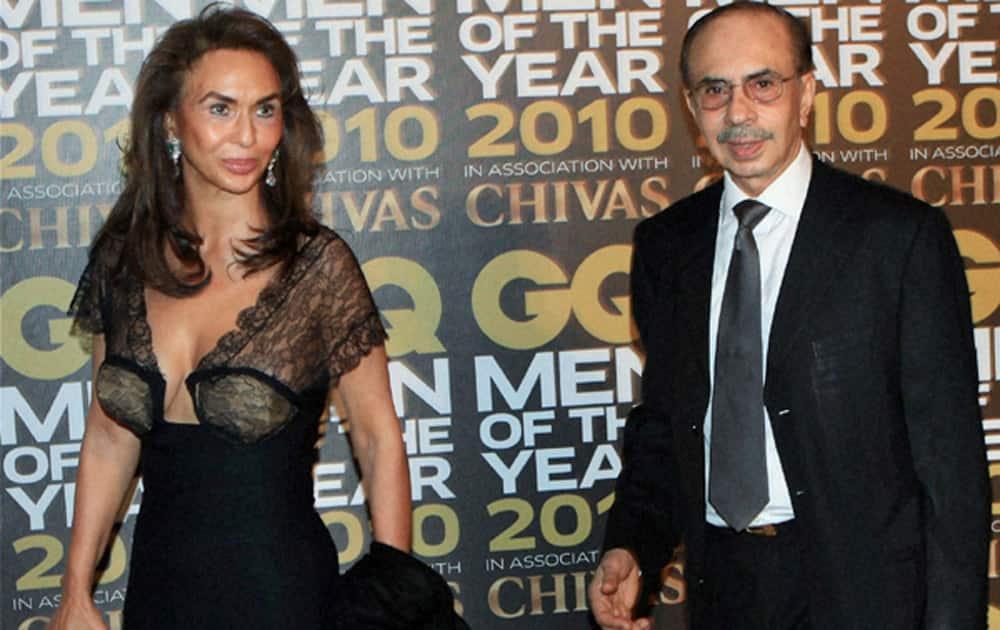 Parmeshwar Godrej (Wife of Adi Godrej, Chairman of Godrej Group).