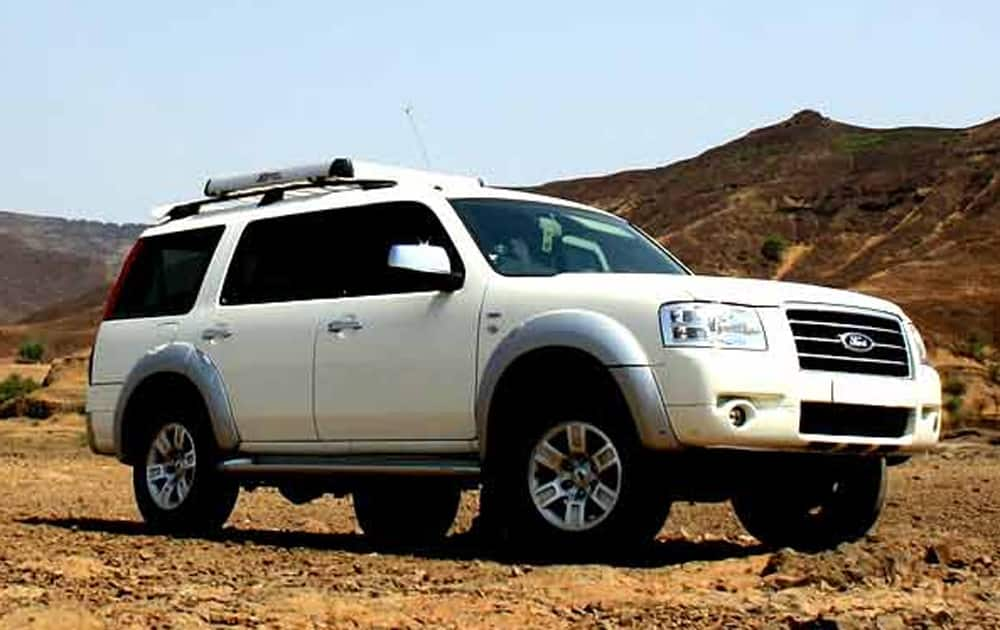 7. Ford Endeavour