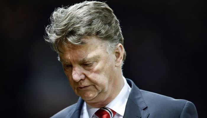 United fans are the best, says under-fire Louis van Gaal