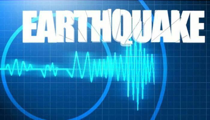 'Strong 6.8 quake hits India's northeastern region'