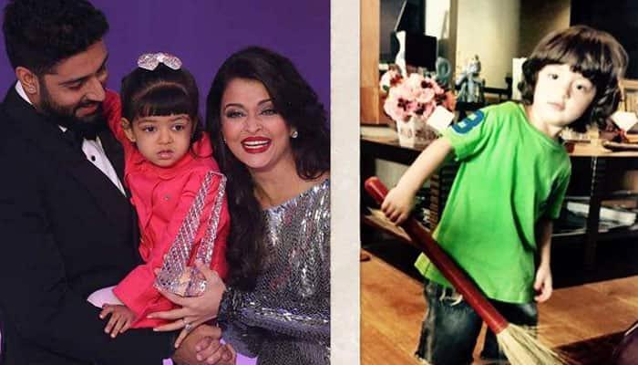 Amitabh Bachchan, Shah Rukh Khan think AbRam-Aaradhya jodi is cute!