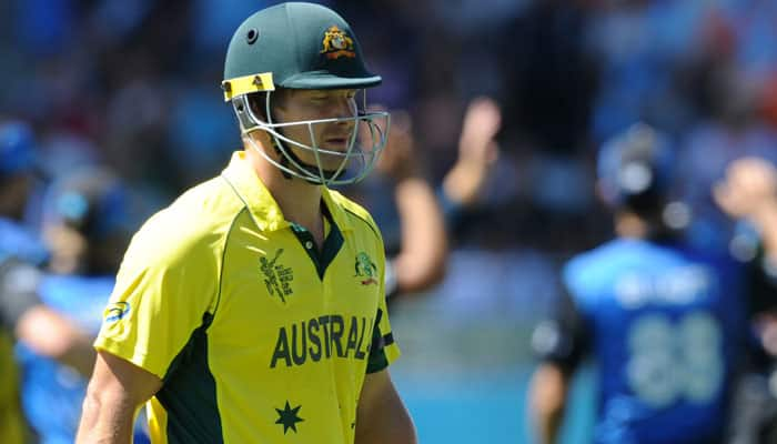 Australia drop Shane Watson, Nathan Lyon from 13-member squad for ODI series vs India