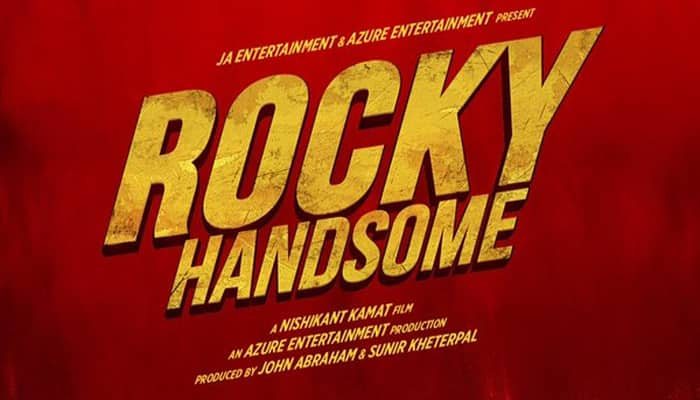 Check out: 'Rocky Handsome' logo poster!