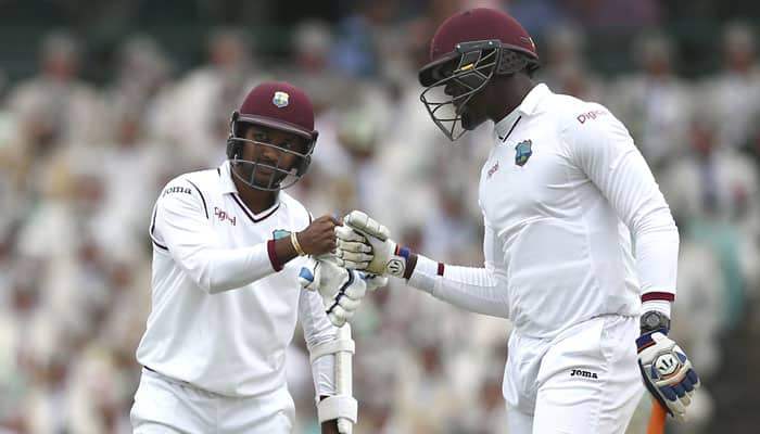 3rd Test, Day 2: West Indies 248-7 at close in rain-hit Sydney Test