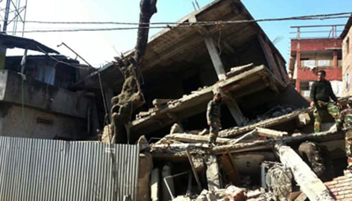 Hundreds injured as quake hits Manipur, northeast