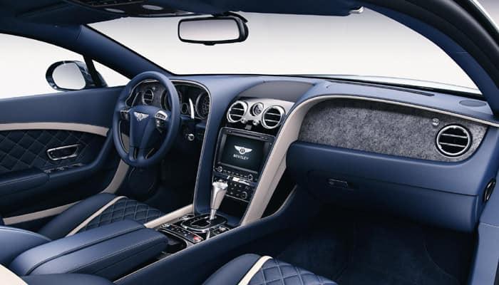 Wow! Bentley cars to Bentley come with stone interior veneers