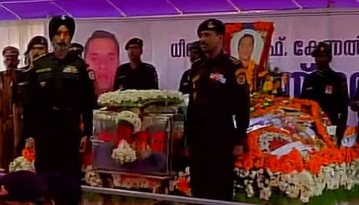 NSG commando Lt Col Niranjan laid to rest in hometown Palakkad with full state honours