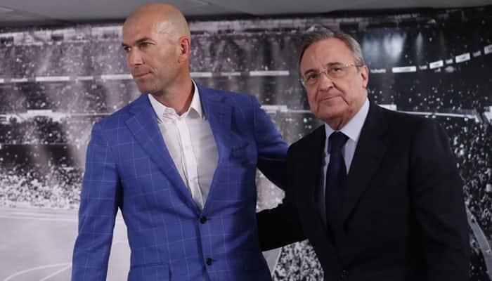 Real Madrid CF sack Rafael Benitez, hire Zinedine Zidane as coach