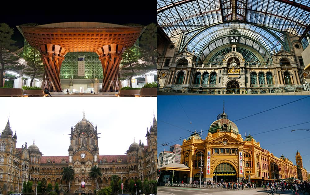 Traveling provides an opportunity to discover transit points that are impossible to circumvent yet are often overlooked. Let's take a look at 10 most striking railway stations around the world.