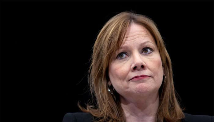 Mary Barra named GM chair in new first for a woman