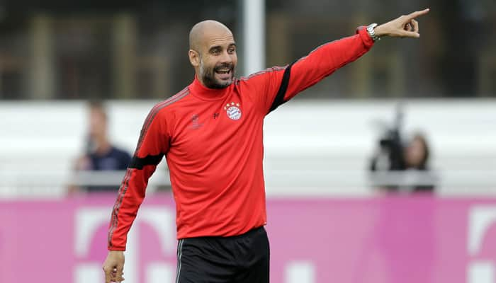 Pep Guardiola says he wants to coach in England