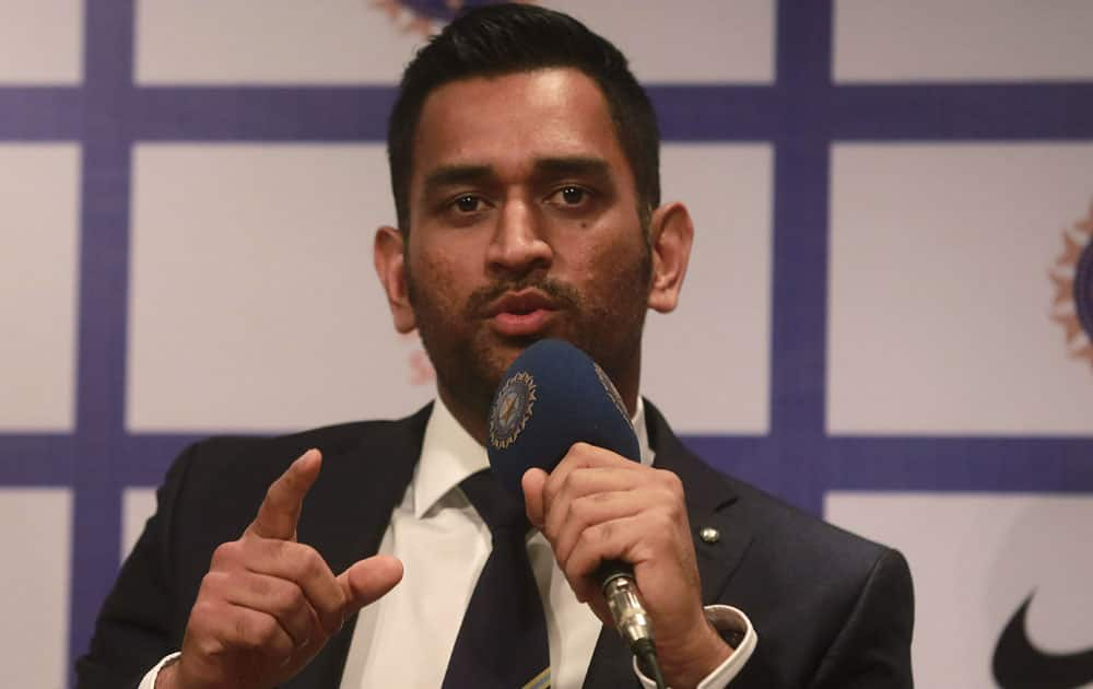 Mahendra Singh Dhoni will lead the Indian squads in Australia, where they are scheduled to play five One-Day Internationals and three Twenty20I games during the series begining January 12.
