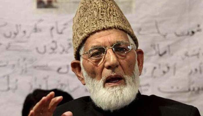 Not against friendly India-Pak ties: Hurriyat​ leader Geelani