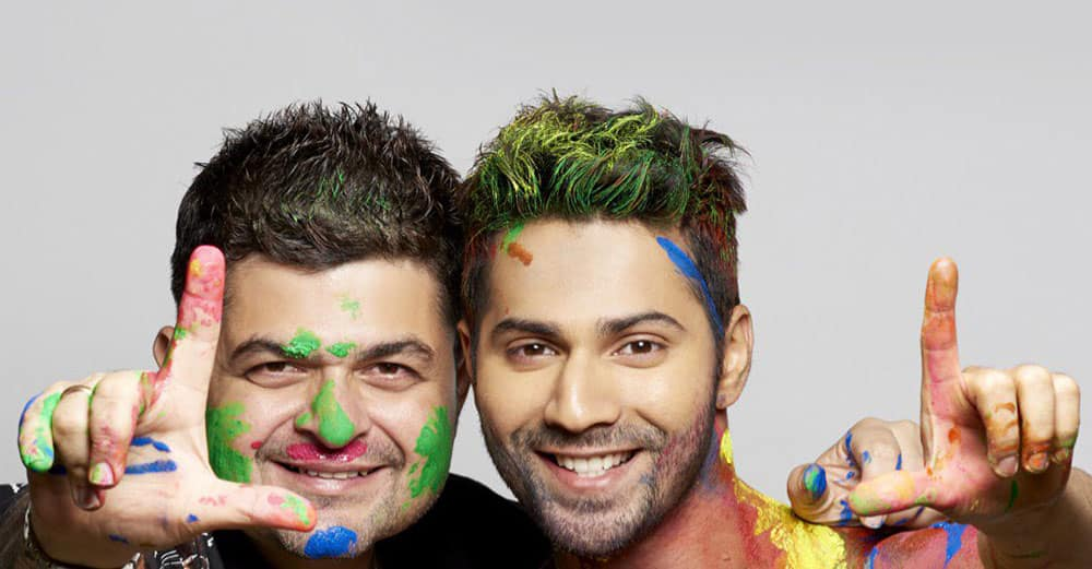 Varun Dhawan :- Life is made up of different colours. Sneak peak of what to expect in the 2016 calender from @DabbooRatnani childman -twitter