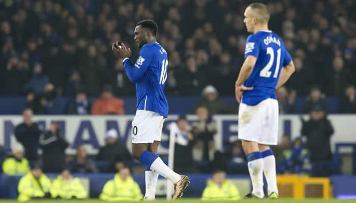 2nd semi-final, 1st leg: Romelu Lukaku gives Everton 1-0 advantage over Man City in League Cup