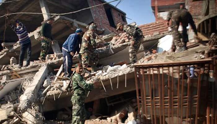 Relief efforts underway in full-swing in quake-hit Manipur
