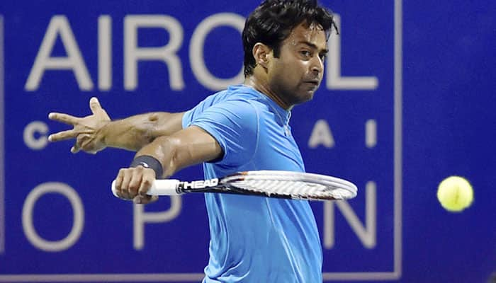 Leander Paes out of Chennai Open, thanks to ill partner