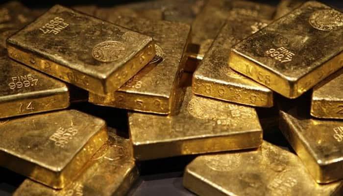 Gold hits nine-week high as China worries hit stocks