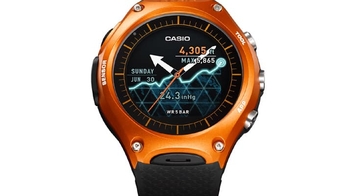Casio unveils its first Android smartwatch