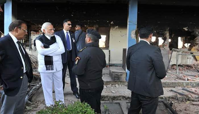 PM Modi reviews security at terror-hit Pathankot airbase, lauds India's tactical response to attackers