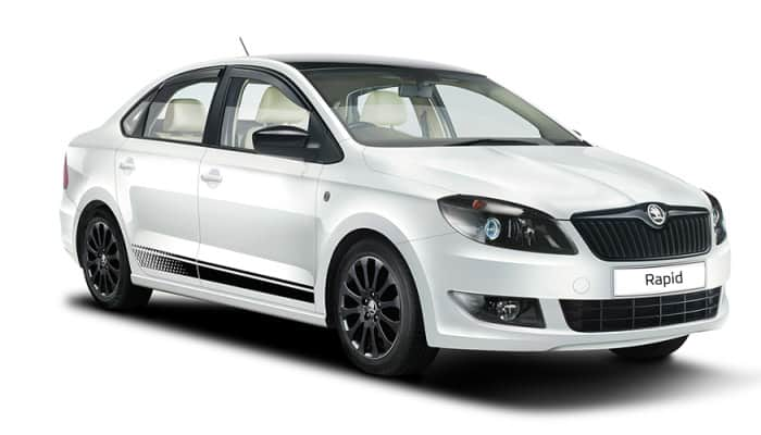 Buy Skoda Rapid on EMI holiday offer