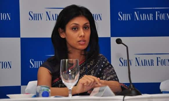Roshni Nadar is the daughter of Indian billionaire Shiv Nadar and is the CEO of HCL Group. (Pic courtesy: HCL)