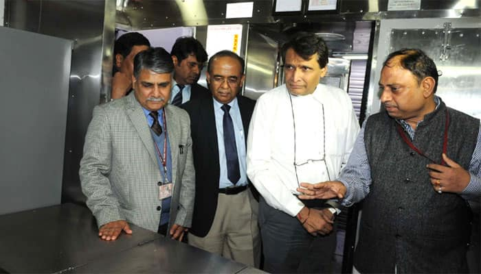 Indian Railways unveils train coaches with new, refurbished look