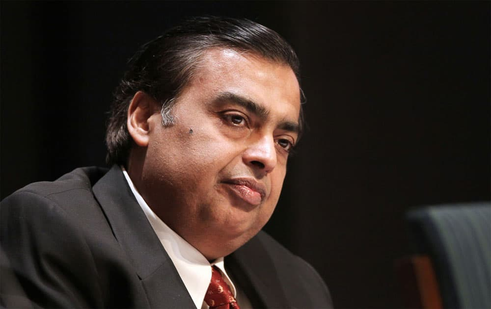 Mukesh Ambani is at No.6 with donation of Rs 345 crore.
