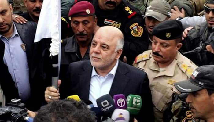 Iraqi PM vows to expel Islamic State after deadly mall attack