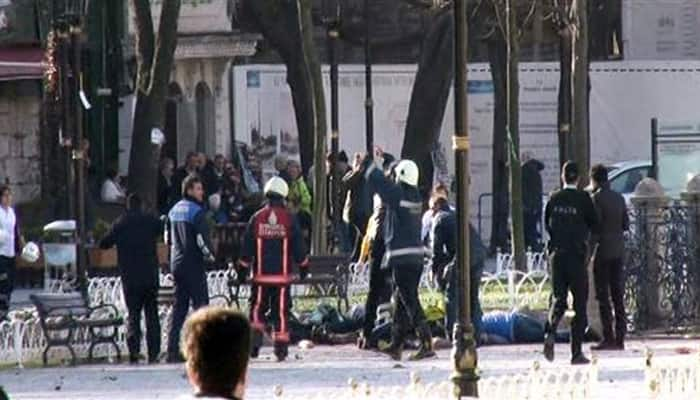 10 dead, 15 wounded in Istanbul tourist district explosion