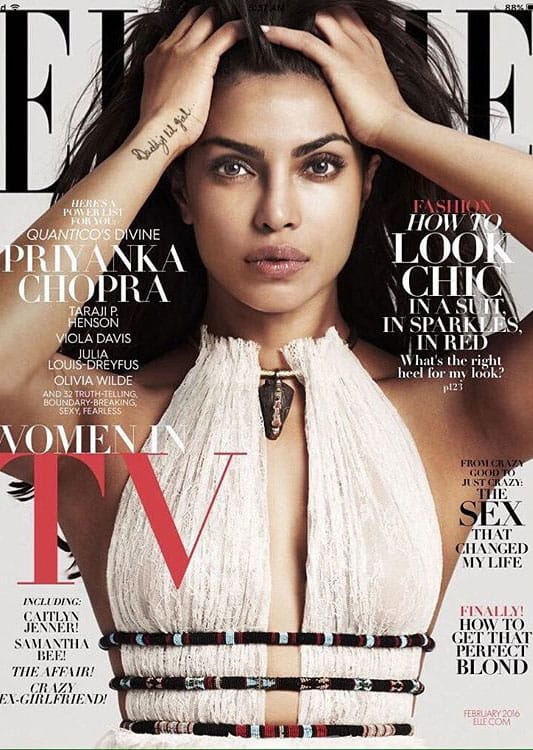 priyanka chopra :- Here it is @elleusa much love -instagram