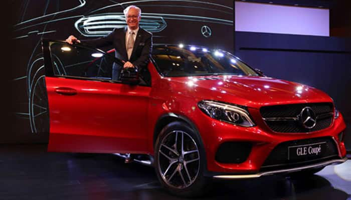 Mercedes launches GLE 450 AMG Coupe at Rs 86.40 lakh