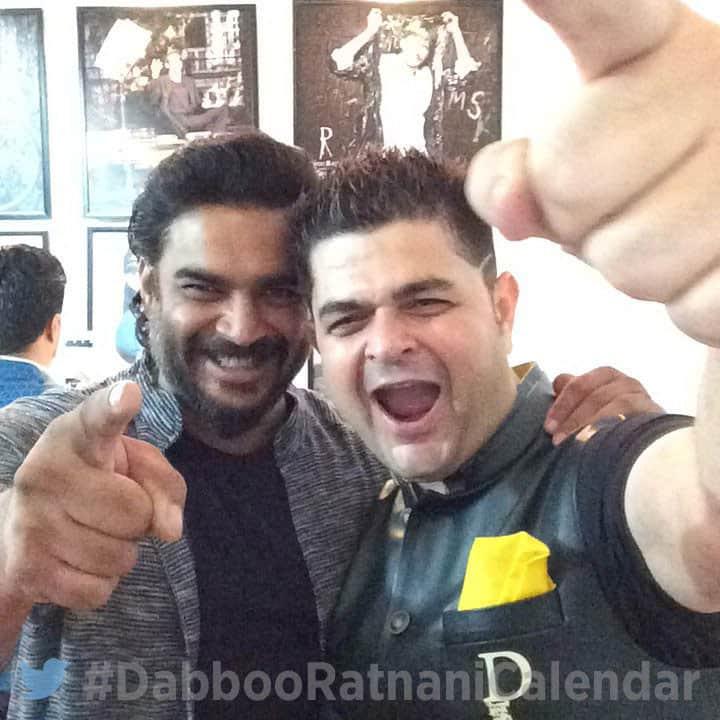 DABBOO RATNANI :- #DabbooRatnaniCalendar @actormadhavan -twitter