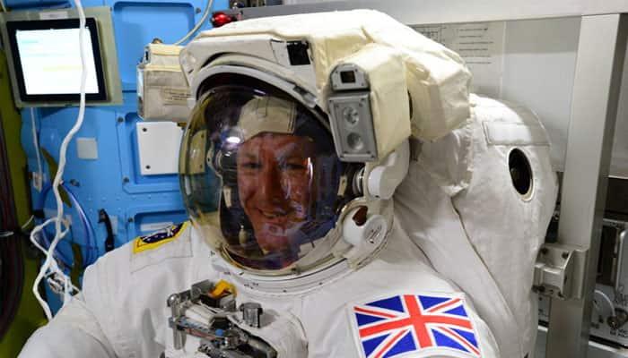 See inside: Tim Peake prepares for his first spacewalk