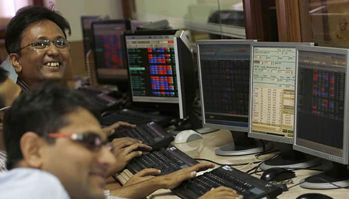 Sensex rebounds 172 points; ignores weak IIP, rising inflation