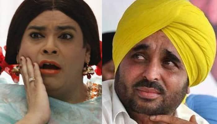 AAP MP Bhagwant Mann surprised over Kiku Sharda's arrest for mimicking Gurmeet Ram Rahim