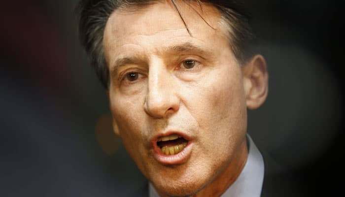 There was no IAAF cover-up on positive drug tests by Russian athletes: Sebastian Coe