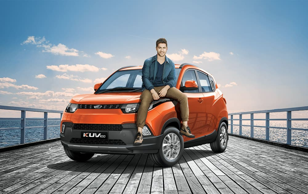 The KUV100 is available in 7 variants: K2 & K2+, K4 & K4+, K6 & K6+ and K8 in both petrol & diesel with 5 & 6 seater options.